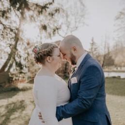 Herbsthochzeit mit freier Trauung fotografiert von Martina Feicht Fotografie, für Hochzeiten in Niederbayern und Österreich