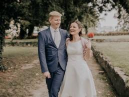 Brautpaar Shooting Hochzeit am Standesamt in Passau, fotografiert von Martina Feicht Fotografie