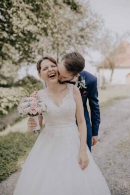 Hochzeitsbilder, bei Sommerhochzeit in Freyung, fotografiert von Martina Feicht, Hochzeitsfotografin