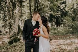 Brautpaar Lovestory fotografiert von Fotografin für Hochzeiten Martina Feicht, Passau