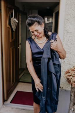 Brautmutter fotografiert von Fotografin für Hochzeiten Martina Feicht, Passau