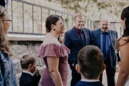 Hochzeitsgäste fotografiert von Fotografin für Hochzeiten Martina Feicht, Passau