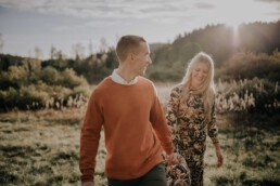Shooting für Paare im Herbst mit Fotografin Martina Feicht, für Portraitshooting und Hochzeit in Passau