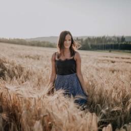 Portraitshooting zur goldenen Stunde von Fotografin Martina Feicht aus Passau