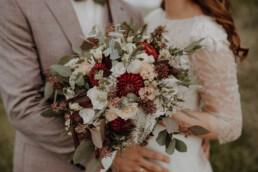 Brautstrauss in herbstlichen Farben, Martina Feicht Fotografie