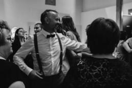 Brautvater auf der Tanzfläche und tanzt in Passau und Oberbayern