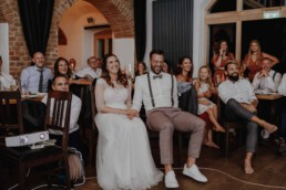 Lustiges Video für das lachende Brautpaar bei der Hochzeit, Martina Feicht , Passau