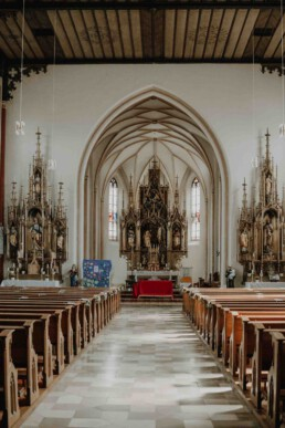 Die Kirche in Dingolfing, in der die kirchliche Trauung stattfinden wird