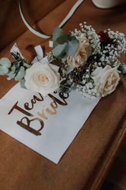 Team Bride Taschentücher für die emotionale Trauung in Passau