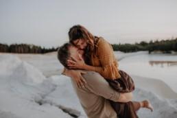 Romantische Stimmung beim Shooting mit Martina Feicht Fotografie