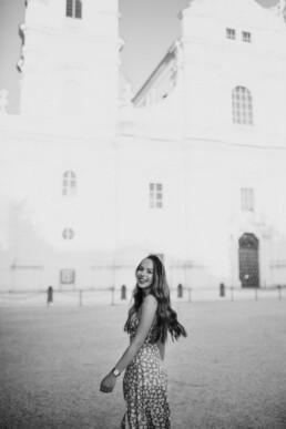 Portraitshooting am Domplatz in Passau fotografiert von Martina Feicht Fotografie