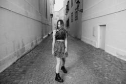 Streetstyle Shooting in Passau am Domplatz von Martina Feicht Fotografie fotografiert