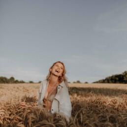 Selbstliebe Porträt im Sommer mit Martina Feicht Fotografie