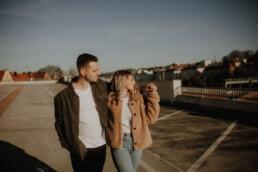 Lifestylebilder in Passau als Paarshooting von Martina Feicht Fotografie