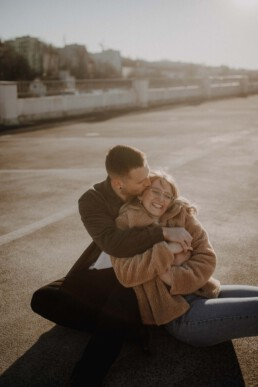 Liebe in Passau beim Paarshooting fotografiert von Martina Feicht Fotografie