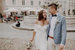 Standesamtliche Hochzeit im Rathaus Passau fotografiert und begleitet von Martina Feicht Fotografie