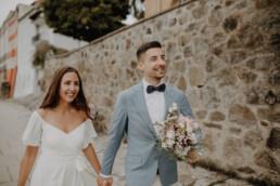 Brautpaarshooting in Passau bei der standesamtlichen Hochzeit in Passau fotografiert von Martina Feicht fotografie