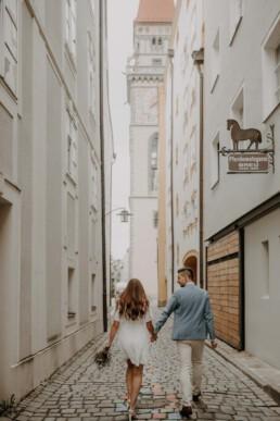 Elopement Wedding in Passau, Herbsthochzeit fotografiert von Martina Feicht Fotografie