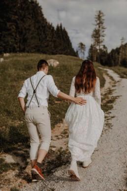 Afterwedding- Shooting in Werfenweng in Österreich fotografiert von Martina Feicht Fotografie