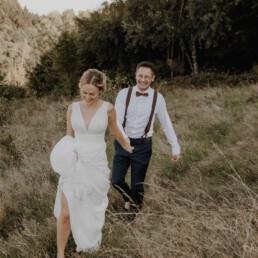 Brautpaarshooting bei der standesamtlichen Trauung in Metten in der Nähe vom Grandsberger Hof bei Deggendorf fotografiert von Martina Feicht Fotografie